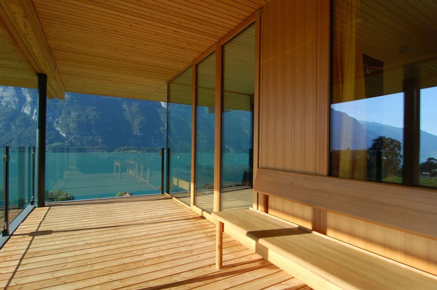 Casa de madera exterior