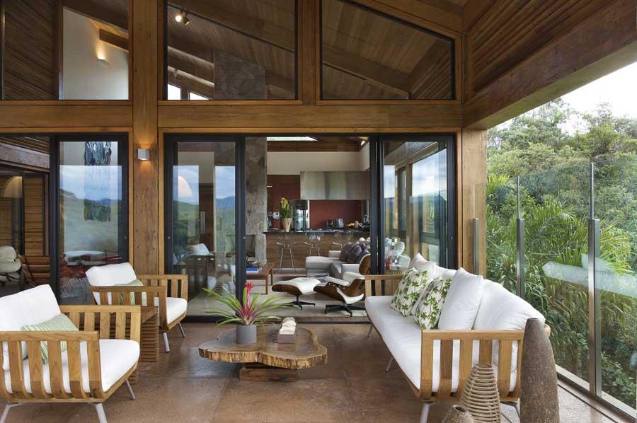 Casas de madera caracter sticas - Interiores casas de madera ...