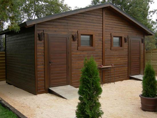 C mo hacer para construir una caseta de madera de jard n - Casetas prefabricadas leroy merlin ...