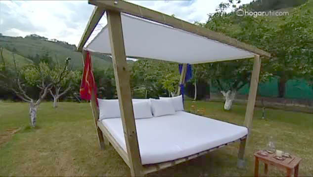 Chillout de madera para el jard n for Chill out jardin